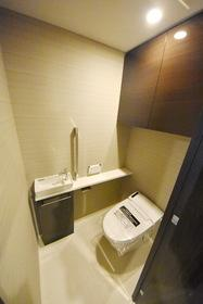【トイレ】シティハウス東京八重洲通り