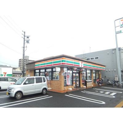 コンビニ「セブンイレブン長野栗田店まで406m」