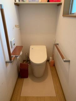 【トイレ】氷上町井中中古住宅580万円