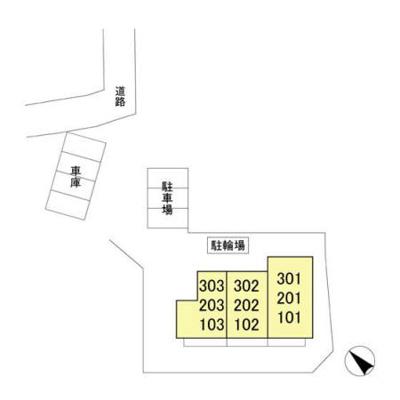 【区画図】ロイヤルクレッセント西登戸参番館