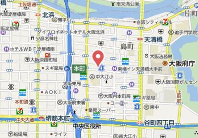 【地図】Y's大手通