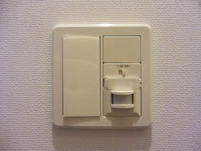 人感センサー付玄関ライトです