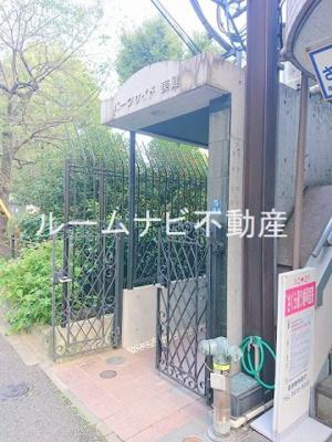 【エントランス】パークサイド美健