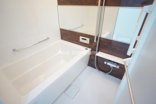 ユニットバス新調☆浴室乾燥機完備です☆
