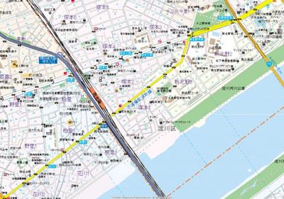 【地図】メロディア塚本