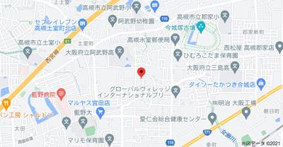 【地図】アローフィールド (株)Roots
