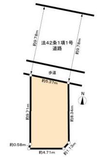 【区画図】新築一戸建 川崎市幸区小倉4丁目