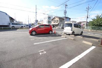 【駐車場】コーポ朝日A棟