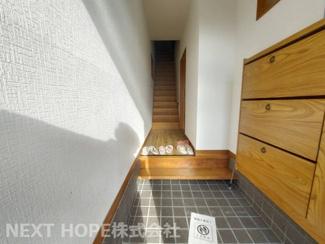 スッキリとした玄関です♪シューズBOXもございます!