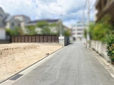 【前面道路含む現地写真】公光町3号地 売土地