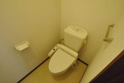 【トイレ】シティパル長行 C棟