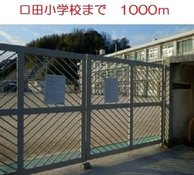 口田小学校まで1000m