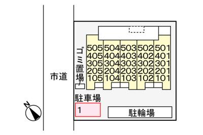【区画図】ヴィレッジゲート神明