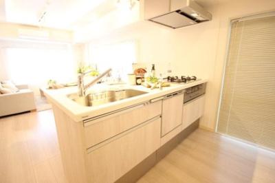 サンパークマンション鶯谷のキッチンです。