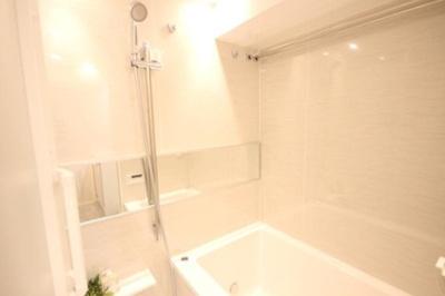 サンパークマンション鶯谷のお風呂です。