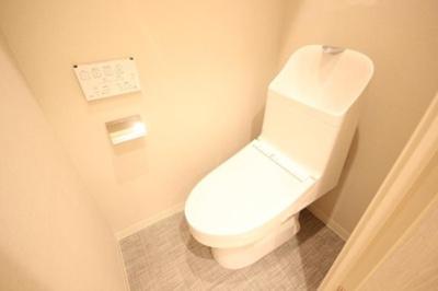 サンパークマンション鶯谷のトイレです。