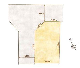 1-A区画:土地面積135.09平米、お好きな工務店で建築可