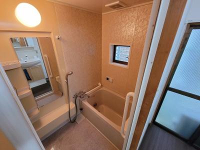 【浴室】北区西賀茂山ノ森町 中古テラス