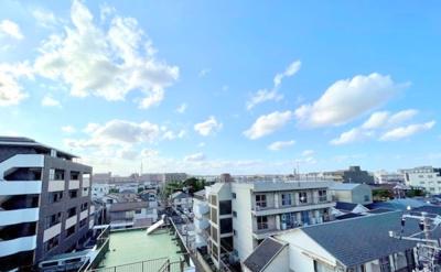 【居間・リビング】ダイアパレス船堀 5階 角 部屋 リ ノベーション済