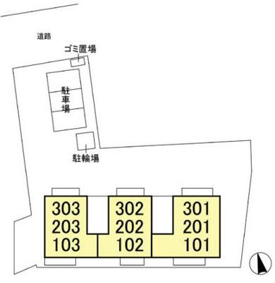 【区画図】ヒルズ・カーリアA