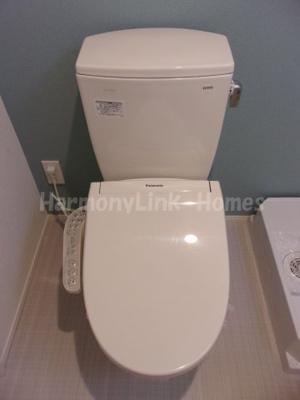 トリコテラスのシンプルで使いやすいトイレです