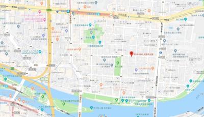 【地図】Precious Court南森町