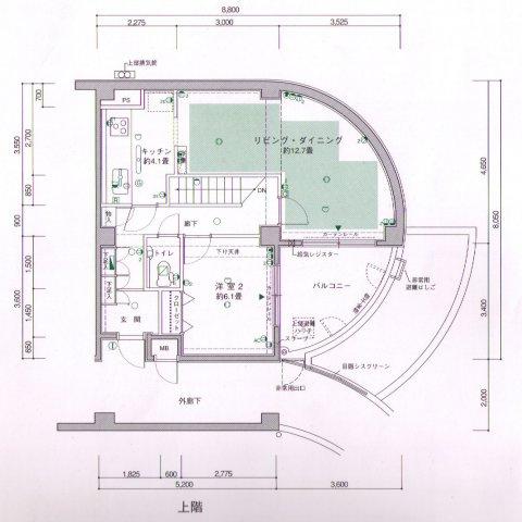 5階部分間取り図