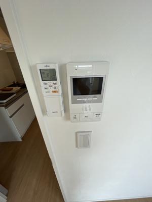 安心TVモニター付きインターホン