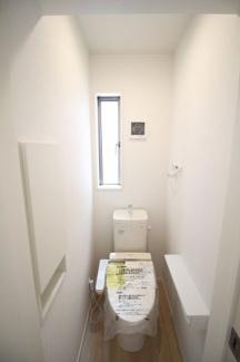 【トイレ】富士市比奈第9 新築戸建 全4棟 (3号棟)