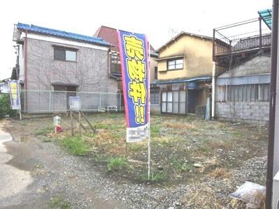 【外観】熊谷市本石 1280万 土地