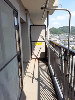 【バルコニー】コスモ小川町