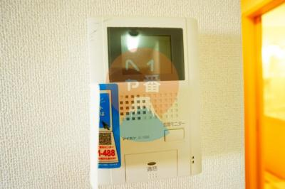 TVモニター付きインターホン*参考写真です