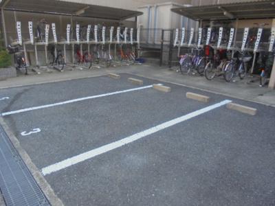 【駐車場】レジデンシア北田辺