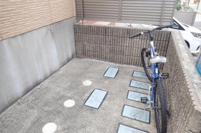 敷地内駐輪スペース有!自転車を持っている方でも安心してお住まい頂けます◎