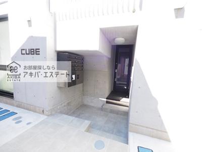 【エントランス】CUBE