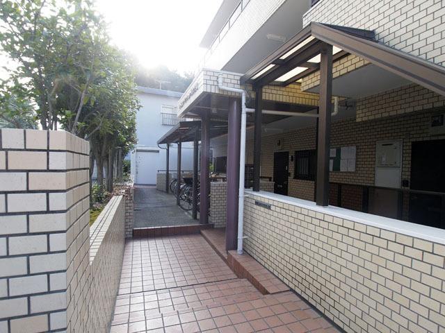 【エントランス】キャニオンマンション見次公園二号館