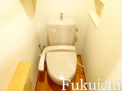 【トイレ】ルーブル学芸大学六番舘
