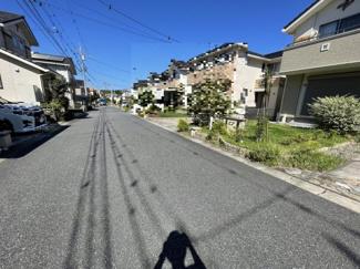 住宅街の安全な6m道路