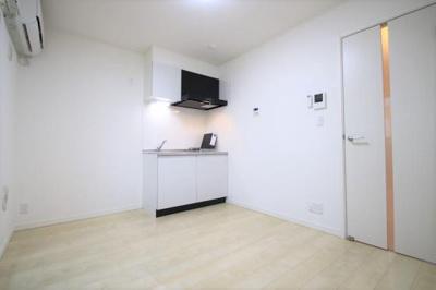 システムキッチンでお掃除楽々!