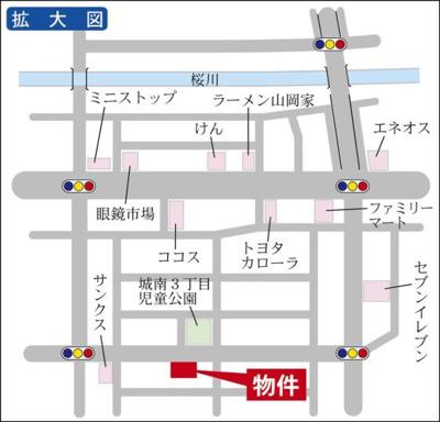 水戸駅まで徒歩15分!