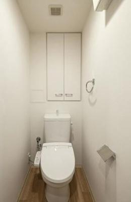 【トイレ】八丁堀レジデンス壱番館