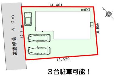 【区画図】浜松市北区初生町 4期 新築一戸建て FF