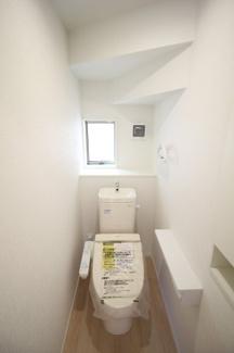 【トイレ】富士市比奈第9 新築戸建 全4棟 (4号棟)