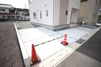 【駐車場】富士市比奈第9 新築戸建 全4棟 (4号棟)