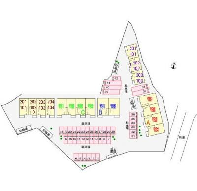 【区画図】フリーデ C