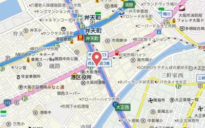 【地図】エステムコート大阪ベイエリア