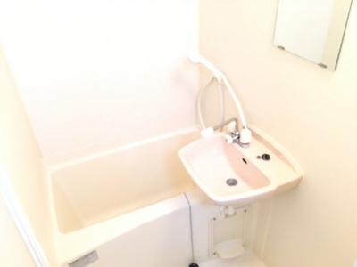 【浴室】レオパレスピュアタウン