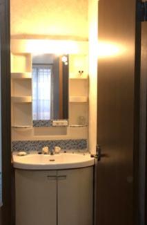 洗面台下の収納には、日用品などすっきりしまっておくことが可能です。