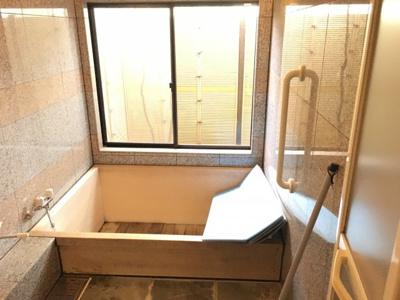 【浴室】北比良ペンション