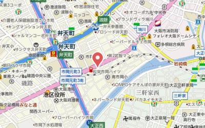 【地図】セオリー大阪ベイステージ
